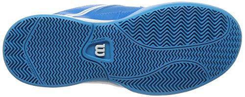 Wilson Unisex-Kinder Envy Jr Bl/Wh Tennisschuhe Blau (Methyl Blue)