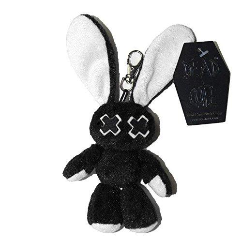 luv-bunny-schlusselanhanger-plusch-gothic-baby-minxy-kaninchen-pluschtier-weiss