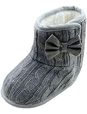 Baby Schuhe Mädchen Jungen Bowknot weiche Sohle Winter warme Stiefel baby shoes Luckygirls
