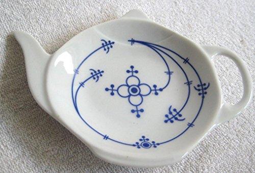 magicaldeco 6 Stück- Teebeutelablage- Indisch blau Strohblume - deutsches Produktdesign