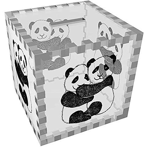 'Panda Étreinte' tirelire transparente (MB00022074)
