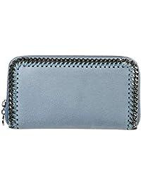 super popular 785ad 71b1f Stella McCartney Continental Falabella portefeuille femme azzurro