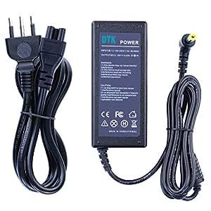 Dtk® Caricatore Notebook Adattatore PC Portatile Alimentatore per Acer Aspire High Quality Output: 19V 3.42A 65W Caricatori alimentatori Caricabatterie Connettore: 5.5X1.7MM