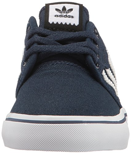 Adidas Youth Seeley Canvas Trainers Collegiate Navy