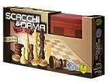 Editrice Giochi Giochi Classici-Dama & Scacchi Deluxe in Legno, 6036101