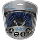 Audiopipe CPM15 Platinum Plated Interconnect Cable, 15ft