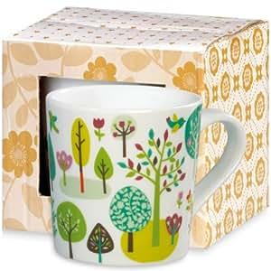 Atomic Soda - Mug Mini Labo en porcelaine - Forêt