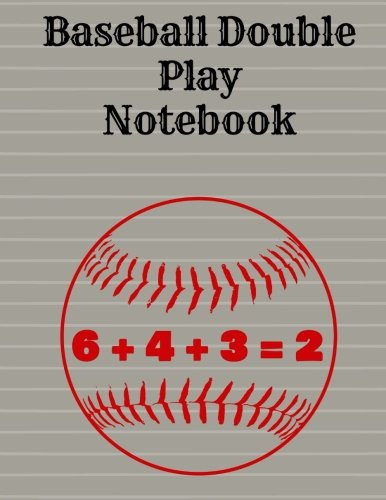 Baseball Double Play Notebook, Wide Ruled: 8.5 x 11 por Rengaw Creations