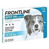Boehringer Ingelheim Vetmedica Frontline Spot on H 20 ve 3 STK