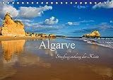Algarve - Streifzug entlang der Küste (Tischkalender 2019 DIN A5 quer): Eine Auswahl von Bildern der wildromantischen Küste der Algarve. 13 herrliche ... (Monatskalender, 14 Seiten ) (CALVENDO Orte) - Carina-Fotografie
