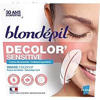 Blondépil Decolor crema blanqueadora sensible para la cara 2 x 25 ml