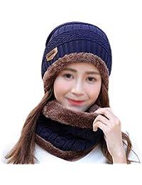 Amazon.fr   LA HAUTE - Packs bonnet, écharpe et gants   Accessoires ... f04f09916da