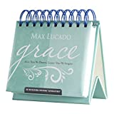 DaySpring Max Lucado's Grace: More Than We Deserve DayBrightener Perpetual Flip Calendar, 366 Days (52101)
