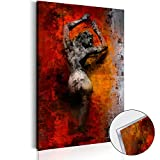 murando - Acrylglasbild Abstrakt 40x60 cm - Glasbilder - Wandbilder XXL - Wandbild - Bilder – Frau h-C-0046-k-a