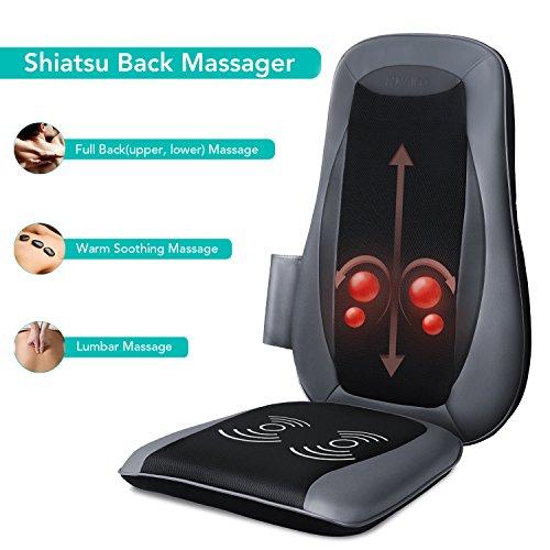 Zoom IMG-2 naipo sedile massaggiante shiatsu massaggiatore