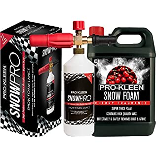 Pro-Kleen Snow Foam Lance / Gun Kit Cherry Snow Foam