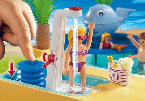 Playmobil 5433 piscina divertente con balena - Piscina playmobil amazon ...