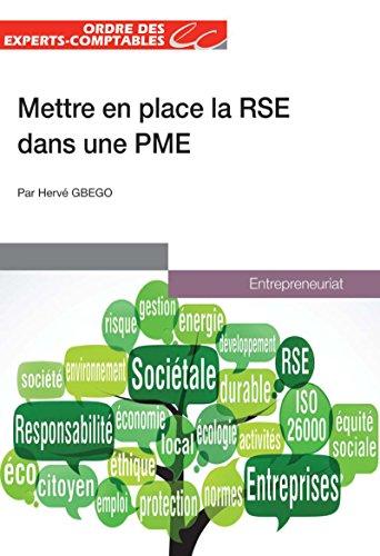 Mettre en place la RSE dans une PME par Hervé GBEGO