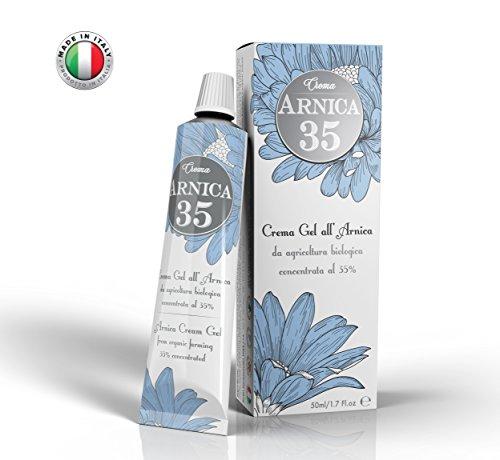 Dulàc - Arnica 35 - LA PLUS CONCENTRÉE - Gel crème d'arnica concentrée 35% - ÉLIMINE LES HÉMATOMES - RÉDUIT LES BOURSOUFLURES, LES DOULEURS MUSCULAIRES ET ARTICULAIRES (1 Pack 50 ml)