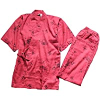 Fancy Pumpkin Traje de Pijamas de Traje de Pijamas de Estilo Japonés Batas para Mujer [Tamaño L, w1]
