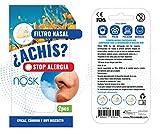 Nosk - Filtro Nasal 2 Unidades TALLA PEQUEÑA - Bloquea al instante...