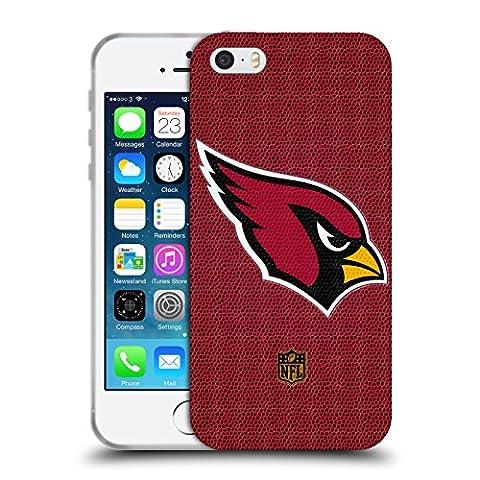 Officiel NFL Football Arizona Cardinals Logo Étui Coque en Gel molle pour Apple iPhone 5 / 5s / SE