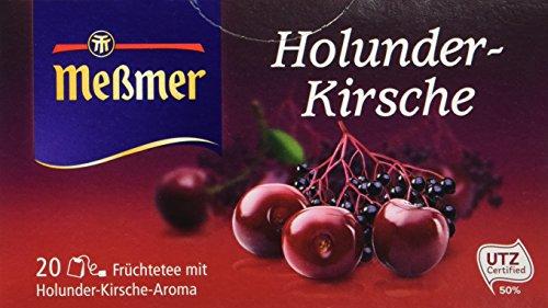 Meßmer Holunder-Kirsche Früchtetee, 20 Beutel, 50 g