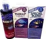 MICROBE-LIFT Special Blend - Wasseraufbereiter für Aquarien, Bakterienpräparat, Meerwasser, Süßwasser (3x 473ml Special Blend&All-in-One&TheraP)