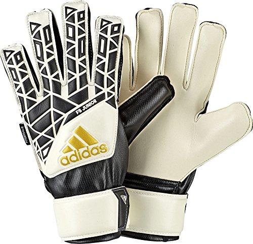adidas Children s Ace Fingersave Junior Goalkeeper Gloves  Multicoloured  White Black   4