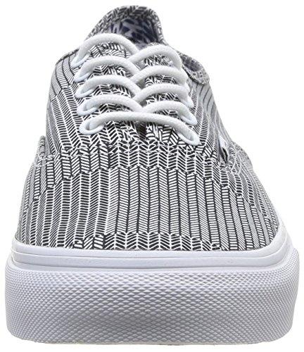 Vans AUTHENTIC SLIM Low-Top Sneaker, Unisex Adulto Multicolore (Mixed Geo bla FI7)