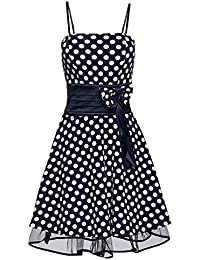 Laeticia Dreams Damen Kleid Petticoat Rockabilly S M L XL