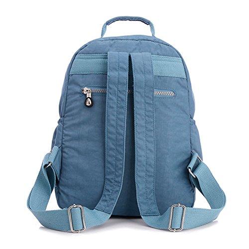 33a332d88a842 Outreo Rucksack Schul Daypack Leichter Rucksäcke Damen Schultaschen Lässige  Tasche Schulrucksack Wasserdicht Reisetasche Backpack für Sport ...
