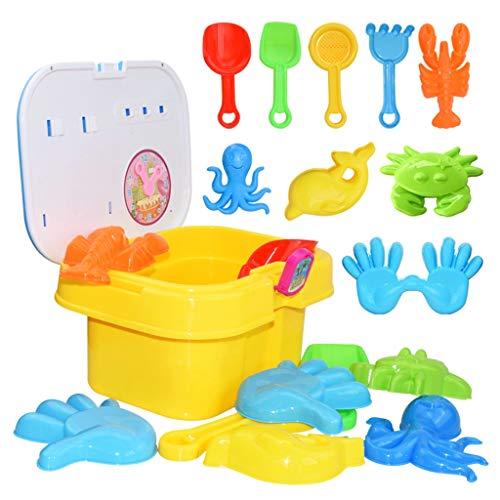 Dapei Kinder Spielzeug Sand Spielzeug Strand Werkzeuge Set Spielen Spielzeug Spaß Im Freien Wasser Spiel Sandkasten für Kinder