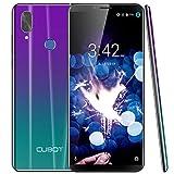 "CUBOT X19 Smartphone 5.93"" FHD+ 18:9, 4G-LTE Smartphone Libero, Android 9.0, Helio P23 2.5GHz, 4000 mAh batteria, 4+64GB, 5V/2A Type-C, Face ID,Fotocamera 16MP+2MP, Dual 4G SIM, Sfumato, Cellulare"