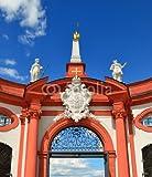 druck-shop24 Wunschmotiv: Memmelsdorfer Tor, Orangerie, Schloss Seehof bei Bamberg #105766218 - Bild hinter Acrylglas - 3:2-60 x 40 cm/40 x 60 cm