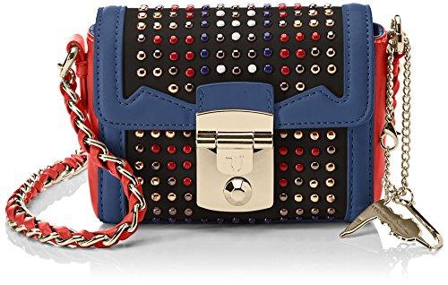 Trussardi Jeans Saint Tropez Ecoleather Studs Mini Bag, Sacs bandoulière