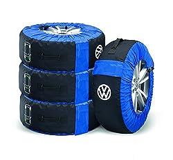 Volkswagen 000073900E Reifentaschen Set Kompletträder (bis 21 Zoll) Tasche Reifen Räder Felgen
