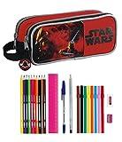 Safta Star Wars Darth Vader SAF811401707 Astuccio completo, doppio scomparto con 23 pezzi