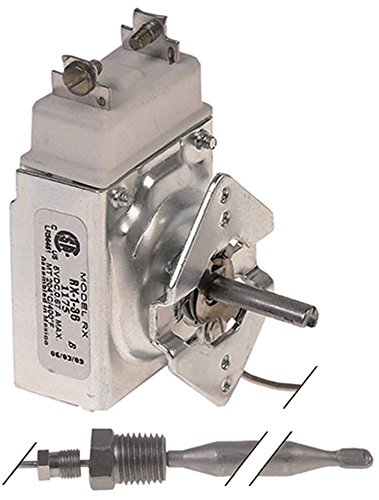 Robertshaw RX-1-36 Thermostat für Fritteuse IMPERIAL USA IF-Series, Fryer-Filter-System-Series max. Temperatur 204°C 1-polig 1NO