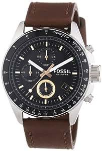 fossil herren armbanduhr xl chronograph quarz leder ch2885. Black Bedroom Furniture Sets. Home Design Ideas