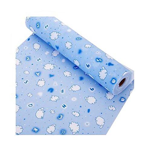 Home Moisture-Proof Pad Schublade Aufbewahrungsmatte, 500x30cm / 196.8x11.8 Zoll, Schaf