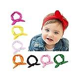 ruiooy Baby Mädchen Stirnband Kleinkind Kopfschmuck Kind Haarband elastisch (8)