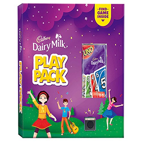 Cadbury Dairy Milk Play Pack, 104g with Free UNO Game Inside