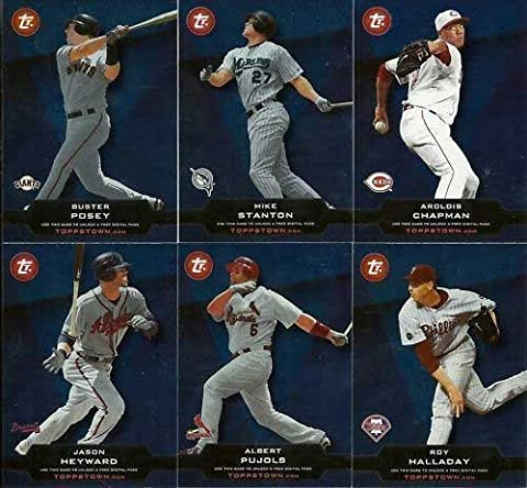 2011 Topps Baseball Topps Town Complete Mint 50 Card Unused