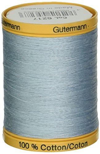 gutermann-fil-de-coton-naturel-solides-filetage-poudre-bleu