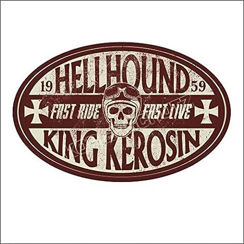 594 King Kerosin < Hellhound 1959 > AUFKLEBER / STICKER USW.