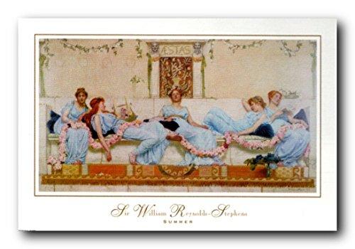 Sir William Reynold Zip Hoodie Stephens Briefpapier, Motiv: Sommer Poster/Kunstdruck (24 x 36) Fantasy-zip Hoodie