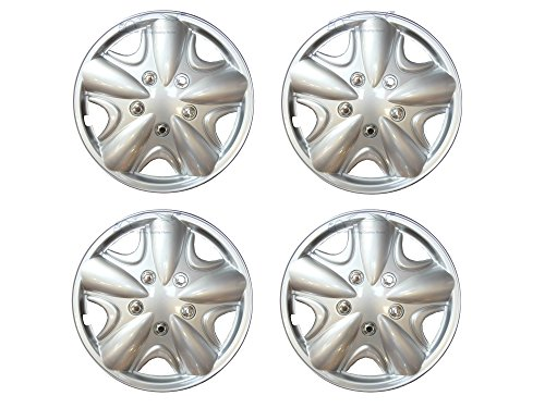 XtremeAuto© 15 inch, Silver, STYLE WHEEL TRIMS, Hub Caps Covers for RENAULT: CLIO, KANGOO, LAGUNA, MEGANE, MODUS, SCENIC, TWINGO, WIND - Buy Online in KSA. ...