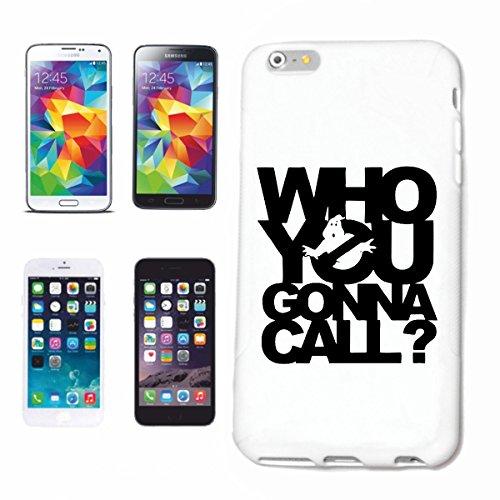 Handyhülle iPhone 5C Who You Gonna Call Ghostbusters Geisterjäger Kino Hardcase Schutzhülle Handycover Smart Cover für Apple iPhone … in Weiß … Schlank und schön, das ist unser HardCase. Das Case wir - Iphone Case-kino 5c