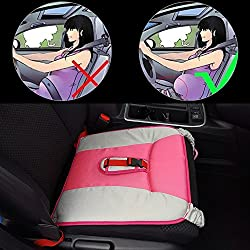 Rovtop Cinturón para embarazada de seguridad en el coche que protege al bebé y la mamá evitando el riesgo Cinturón de Seguridad Ajustable Cinturón de Seguridad para Mujer Embarazada Seguridad del Cinturón Protector-Rosa